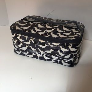 Kate spade makeup bag SET bird print